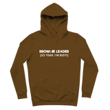 Brownie Leader (So Yeah, I'm Busy!) Guide Premium Adult Hoodie