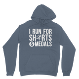 I Run For Shirts And Medals Classic Adult Hoodie