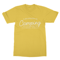 I Am Addicted To Camping But I'm Treating it I Go To Meetings... In The Woods Classic Adult T-Shirt