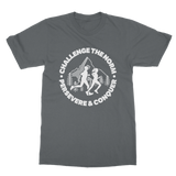 Challenge The Norm Running Logo Classic Adult T-Shirt