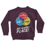 Camping is My Happy Place Classic Kids Sweatshirt