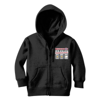Weekend Weather Sunny With a Chance of Tacos? Classic Kids Zip Hoodie