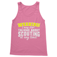 Warning I May Start Talking About Scouting At Any Time Classic Women's Tank Top