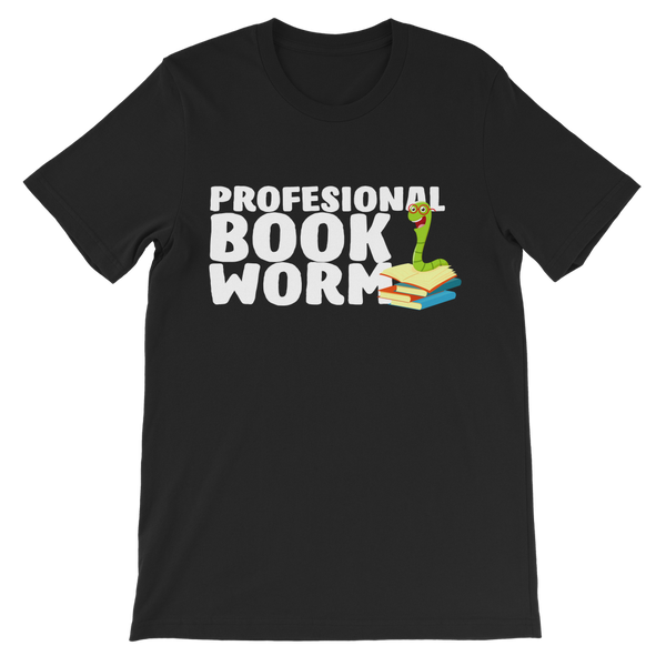 Professional Book Worm Premium Kids T-Shirt