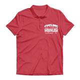 Cycling My Weekends Would Be Pointless Without it! Premium Adult Polo Shirt