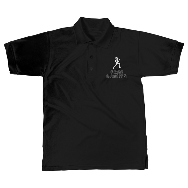 Free Donuts Classic Adult Polo Shirt