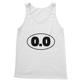 0.0 Funny Running Classic Women's Tank Top