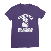 Toasters! The Original Jumpscare! Premium Jersey Women's T-Shirt