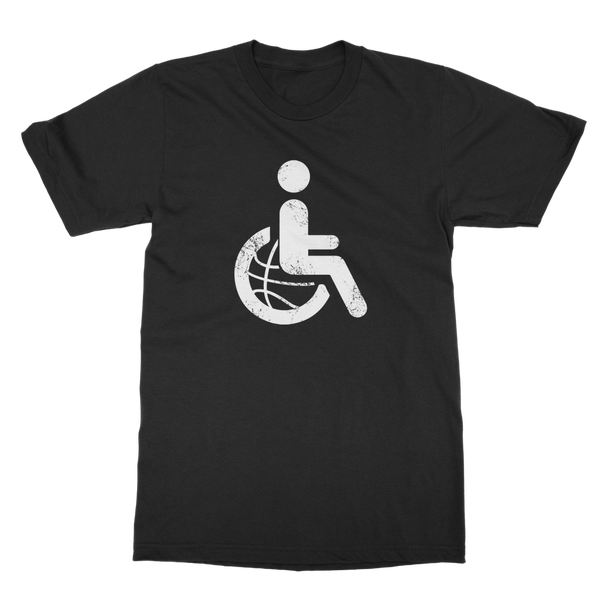 Wheelchair Basketball (DB00045) Classic Adult T-Shirt