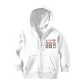 Weekend Weather Sunny With a Chance of Hiking? Classic Kids Zip Hoodie