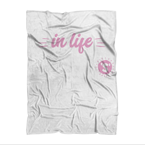 All The Best Things in Life Start With The Letter S - Camping T-Shirt Sublimation Adult Blanket