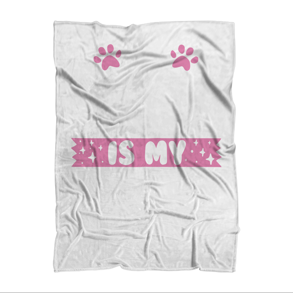 My Golden Retriever is My BFF Sublimation Adult Blanket