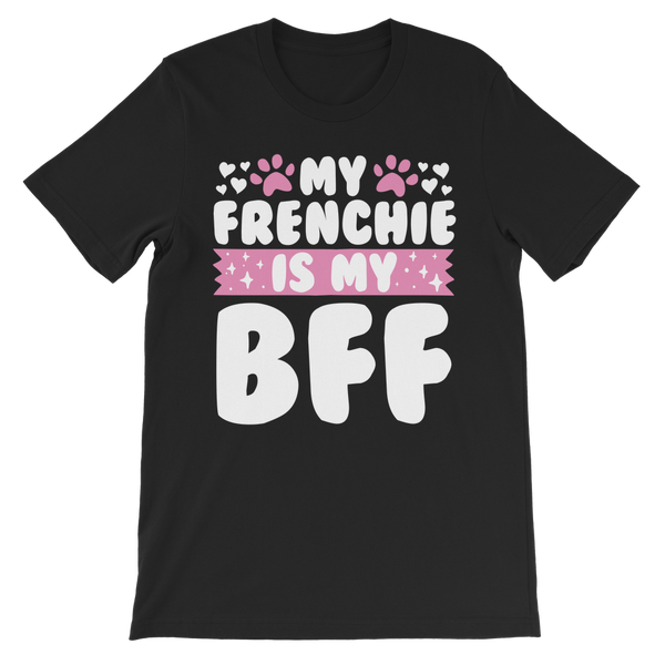 My Frenchie is My BFF Premium Kids T-Shirt