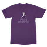 Free Donuts Classic Adult T-Shirt