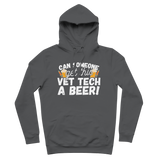 Can Someone Get Vet Tech a Beer! Premium Adult Hoodie