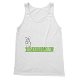 Peace Out This Guy is Going Camping! Classic Women's Tank Top