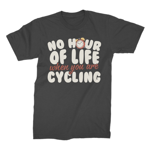 No Hour of Life is Wasted With A Cycling Premium Jersey Men's T-Shirt