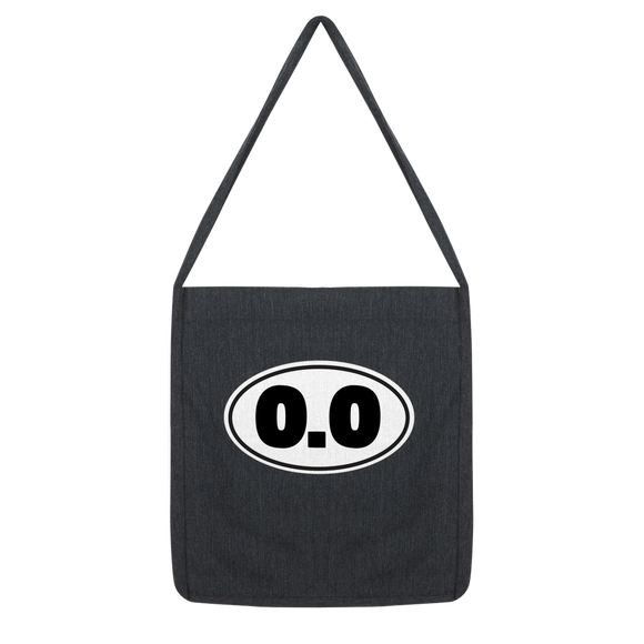 0.0 Funny Running Classic Tote Bag
