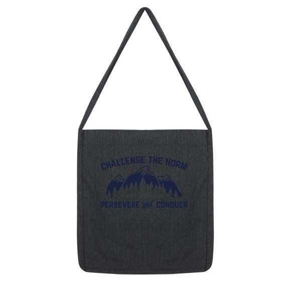 Challenge The Norm Blue Logo Classic Tote Bag