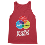 Hiking is My Happy Place Classic Women's Tank Top