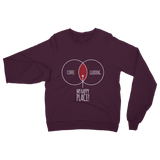 Happy Place Coffee And Guiding Guide Classic Adult Sweatshirt