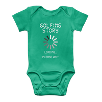 Golf Story Loading... Please Wait Classic Baby Onesie Bodysuit