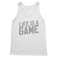 Life is a Game Rugby is Serious Classic Adult Tank Top
