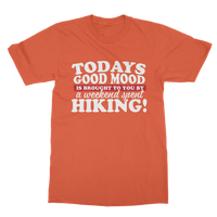 Good Mood Weekend Hiking Classic Adult T-Shirt