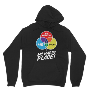 Cycling is My Happy Place Classic Adult Hoodie