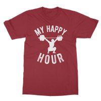My Happy Hour Weightlifting Classic Adult T-Shirt