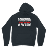 Scouting: I'm Sure They Said One Hour A Week! Scout Classic Adult Hoodie