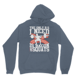 Bacon and Squats Male Classic Adult Hoodie