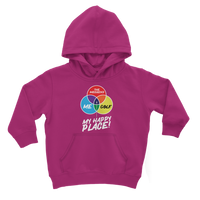 Golf is My Happy Place Classic Kids Hoodie