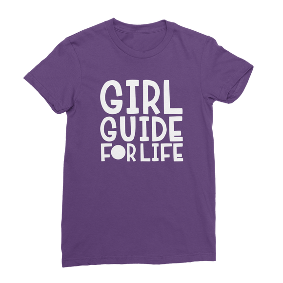 Girl Guide For Life Classic Women's T-Shirt