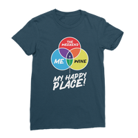 Wine is My Happy Place Classic Women's T-Shirt