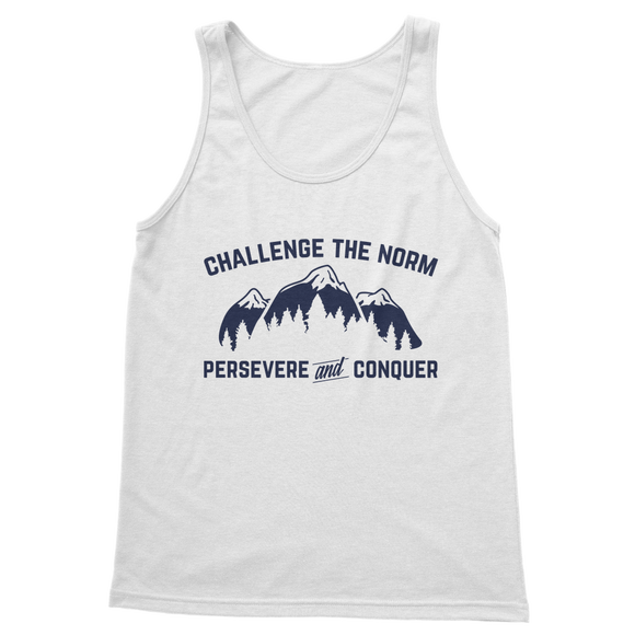 Challenge The Norm Blue Logo Classic Women's Tank Top
