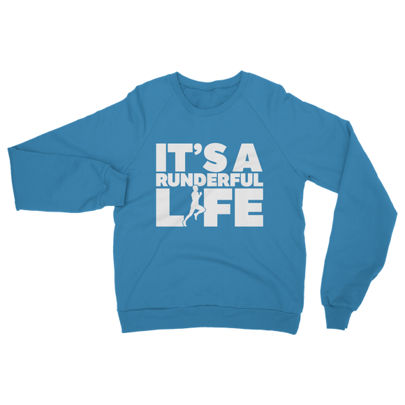 It's A Runderful Life Male Runner Classic Adult Sweatshirt