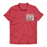 Weekend Weather Sunny With a Chance of Golf? Premium Adult Polo Shirt