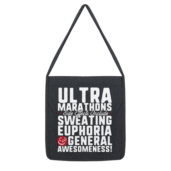 Marathon Side Effects Include Sweating, Euphoria and General Awesomeness Classic Tote Bag