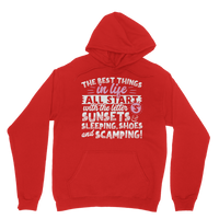 All The Best Things in Life Start With The Letter S - Camping T-Shirt Classic Adult Hoodie