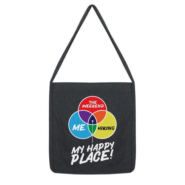 Hiking is My Happy Place Classic Tote Bag