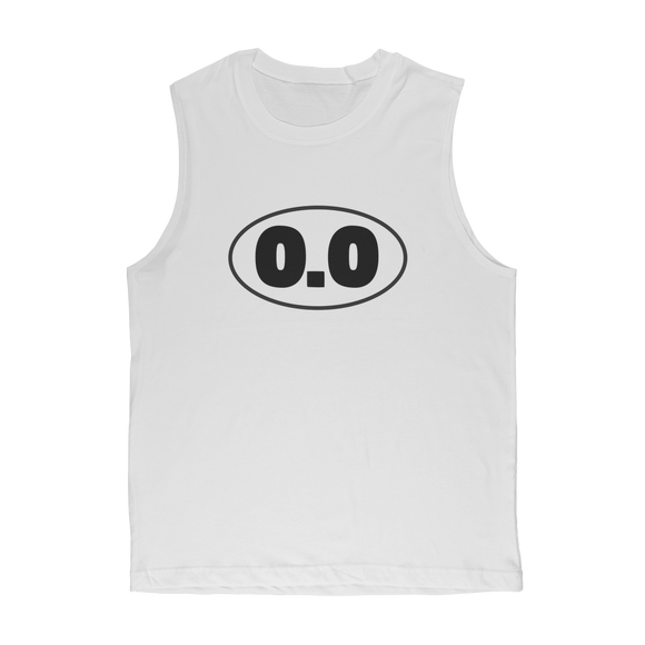 0.0 Funny Running Classic Adult Muscle Top