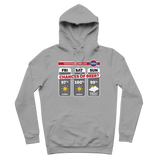 Weekend Weather Sunny With a Chance of Beer? Premium Adult Hoodie