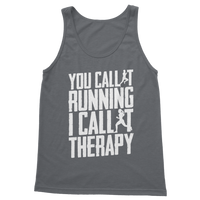 You Call It Running I Call It Therapy Classic Adult Tank Top