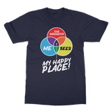 Beer is My Happy Place Classic Adult T-Shirt