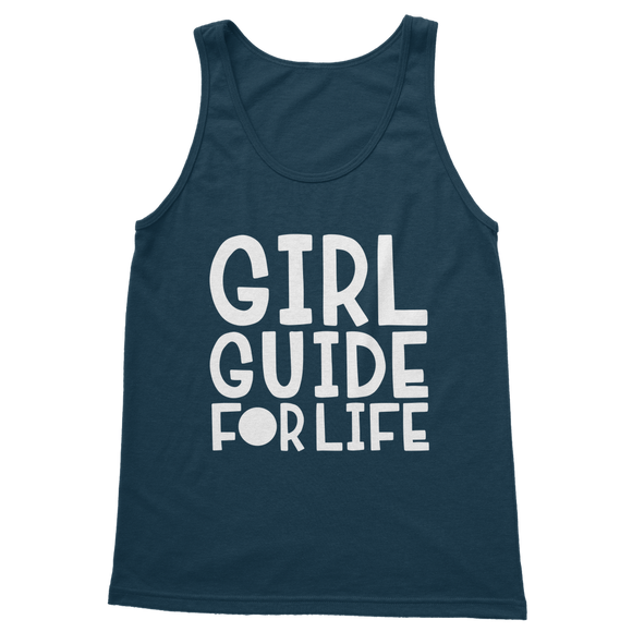 Girl Guide For Life Classic Adult Tank Top