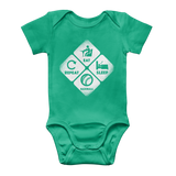 Eat, Sleep, Baseball, Repeat Classic Baby Onesie Bodysuit
