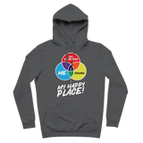 Cycling is My Happy Place Premium Adult Hoodie