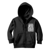 I Don't Always Tell My Wife That I'M Not Playing Poker This Weekend But When I Do I'M Lying Classic Kids Zip Hoodie