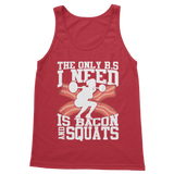 Bacon And Squats Female Classic Adult Tank Top